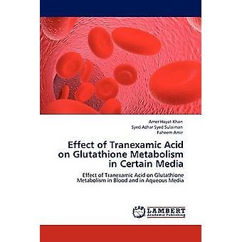 Effect of Tranexamic Acid on Glutathione Metabolism in Certain Media by Hayat Khan & Amer