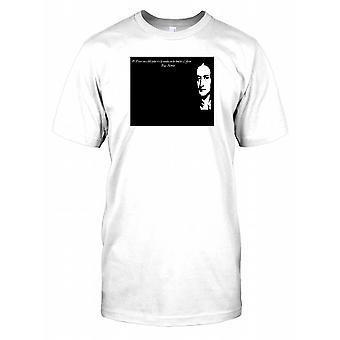 Isaac Newton - stående på skuldrene af giganter citere Herre T-shirt