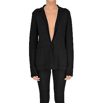 Forte_forte Black Wool Outerwear Jacket