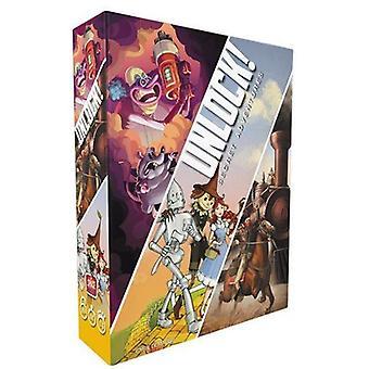 Space Cowboys Entsperren 3 Secret Adventures Card Game