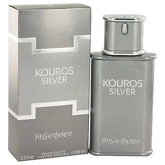 Kouros sølv av Yves Saint Laurent Eau De Toilette Spray 3,4 oz/100 ml (menn)