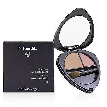 Dr. Hauschka Blush Duo - # 03 Sun-kissed Nectarine - 5.7g/0.2oz