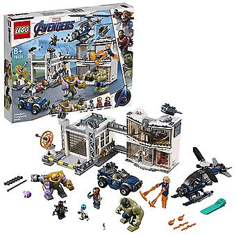 Lego Marvel Super Heroes Avengers Compound Battle Playset 76131