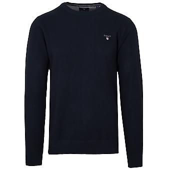 Gant GANT Marineblau Rundhals-Pullover