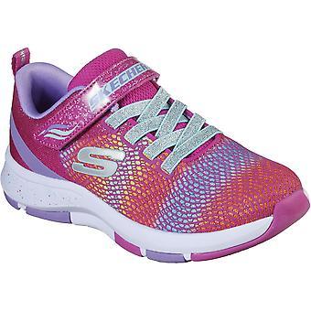 Skechers Girls Trainer Lite 2.0 Lightweight Athletic Shoes