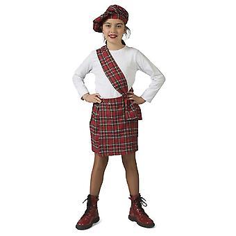 Scotswoman Emma Girl Costume Highlands Schoolgirl Snout Costume