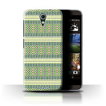 STUFF4 Case/Cover voor HTC Desire 820 Mini/Green/Azteekse Tribal patroon