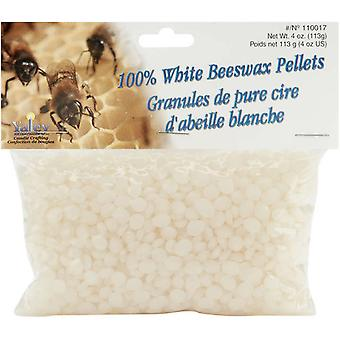 Beeswax Pellets 4 Ounces 100% White 110017