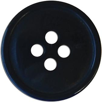 Slimline Buttons Series 1 Navy 4 Hole 5 8