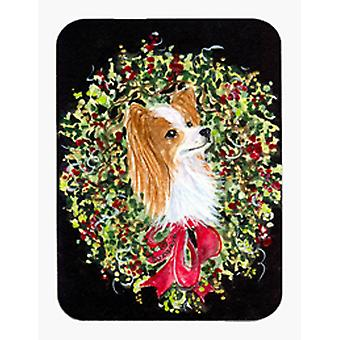 Tappetino per Mouse Natale ghirlanda Papillon / Hot Pad / sottopentola