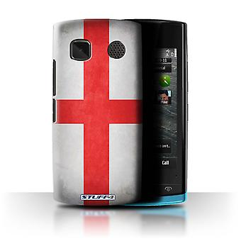 STUFF4 Case/Cover for Nokia 500/England/English/Flags