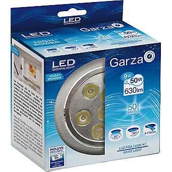 Garza Recessed Led Hp 40K 9W 630LM Aluminum 60th