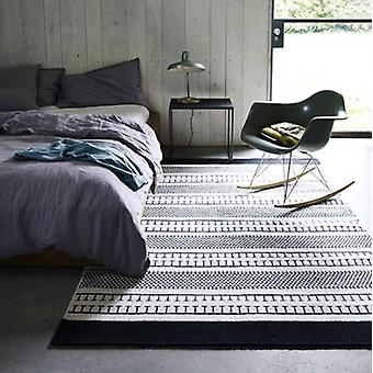 Rugs -Belle Black & Off White - BEL01