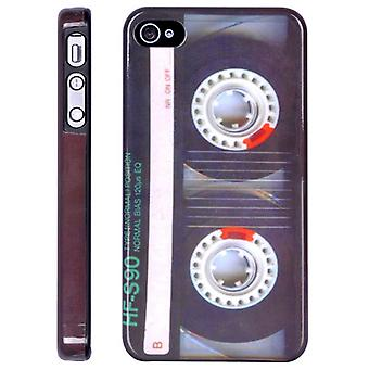 Dekking van tape HF-s90, in hard plastic voor iPhone 4/4s