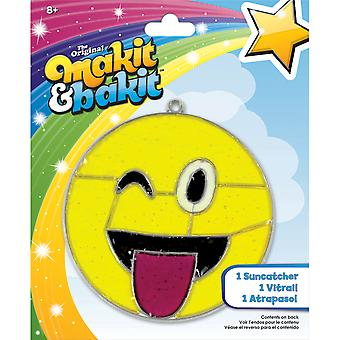 Makit & Bakit Suncatcher Kit-Emoji Tongue 73620