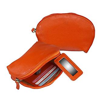 Dr Amsterdam Make up bag Mint Tangerine Tango Orange
