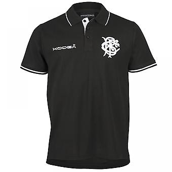 2016-2017 barbares Pique Polo Shirt (Black)