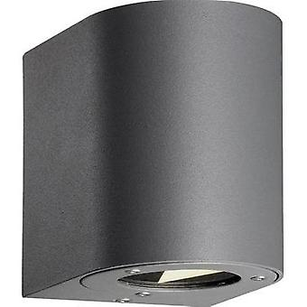 LED outdoor wall light 10 W Warm white Nordlux Canto 77571010 Grey
