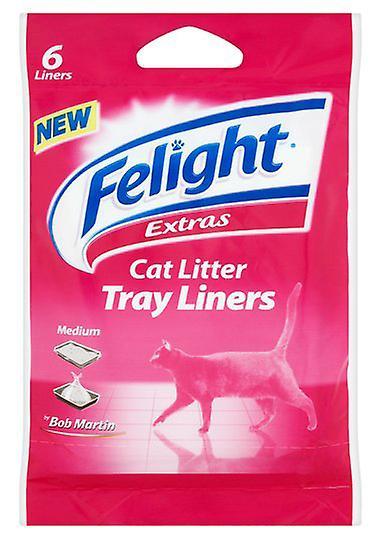 Bob Martin Cat Litter Liners Medium 6pk (Pack of 13)