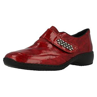 Mesdames Rieker Casual Velcro chaussures L3859