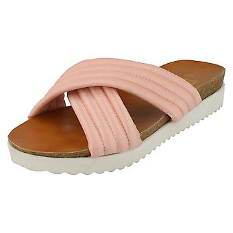 Womens Down To Earth Padded Comfort Sandals