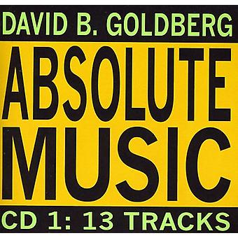 David B. Goldberg - CD música absoluta 1:13 importación USA pistas [CD]