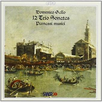 D. Gallo - Domenico Gallo : 12 sonates en Trio [CD] USA import