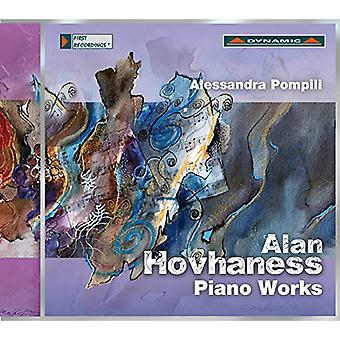 Hovhaness / Pompili - Pno Works [CD] USA import