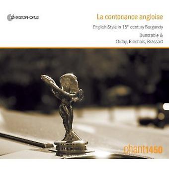 La Contenance Angloise-engelsk stil i 15 Centu - La Contenance Angloise [CD] USA import