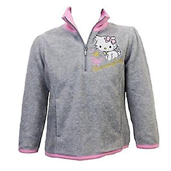 Hello Kitty Jumper Girls Half Zip Fleece