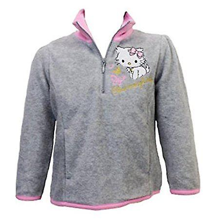 Hello Kitty Jumper Girls Half Zip Fleece