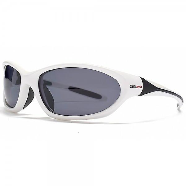 STORM Leous Sports Wrap Sunglasses In White