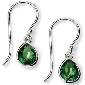 925 Silver Swarovski Crystal Earring