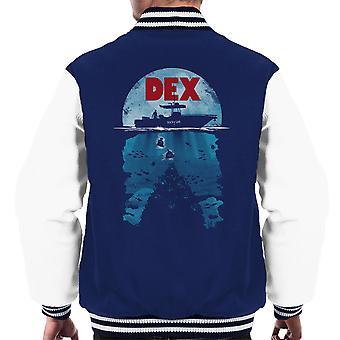Dex Dexter kjevene Mashup menn Varsity jakke