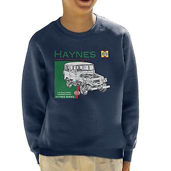 Haynes Owners Workshop Manual 0313 Toyota Landcruiser Kid's Sweatshirt