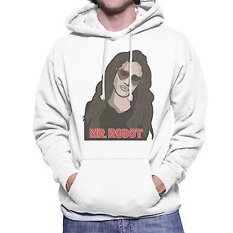 Mijnheer Robot Darlene mannen Hooded Sweatshirt