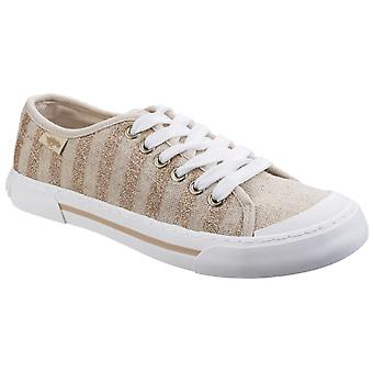 Rocket Dog Womens Jumpin Haystack Linen Sneaker