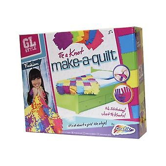 Grafix GL Style Make-A-Quilt Childrens Craft Set - No Sewing Required!