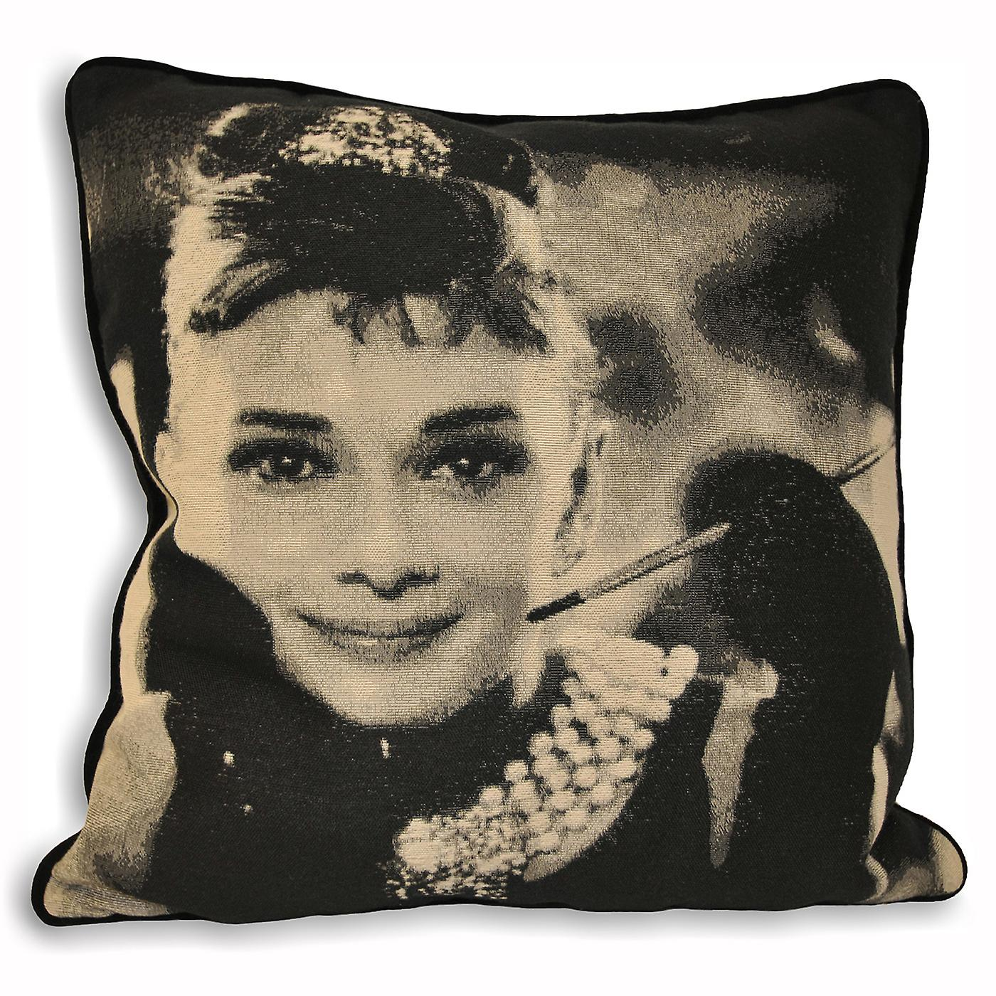 Home Audrey Cushion Cover Hollywood Hepburn Riva BCeQxrdWo