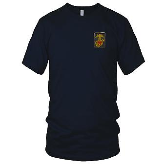 ARVN Marines Black - Silk Military Insignia Vietnam War Embroidered Patch - Mens T Shirt