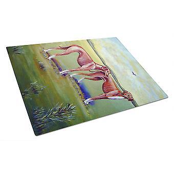 キャロラインズ宝物 7001LCB Azawakh 猟犬ガラス カッティング ボード大