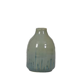 Light & Living Vase Deco Ø12,5x18,5 Cm HAJOS Blue Green