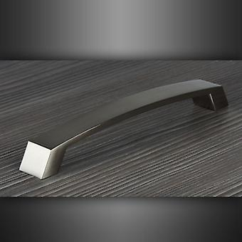 M4TEC Bow Kitchen Cabinet Door Handles Cupboards Drawers Bedroom Furniture Pull Handle [Chrome]. E6 series