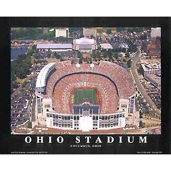 Ohio Stadium (Renovated) - Osu Columbus Poster Print by Mike Smith (28 x 22)