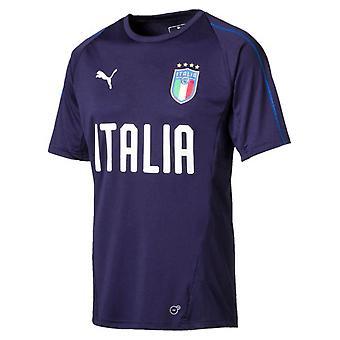 2018-2019 Italy Puma Training Jersey (Peacot)