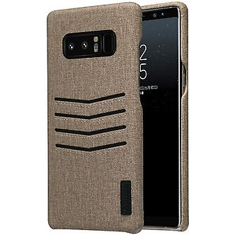 Noble business cover card flap for Samsung Galaxy touch 8 protective cover case Brown