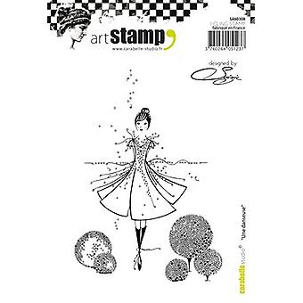 Carabelle Studio Cling Stamp A6 By Soizic-A Dancer SA60308