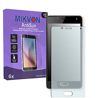 Wiko U Feel Lite Screen Protector - Mikvon AntiSun (Retail Package with accessories)