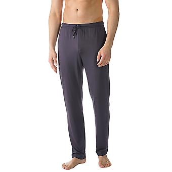 Mey 65660-668 Men's Jefferson Blue Solid Colour Pajama Pyjama Pant