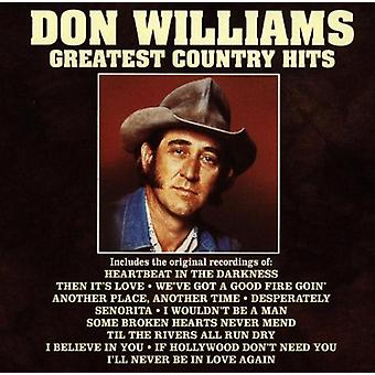 Don Williams - Greatest Country Hits [CD] USA import